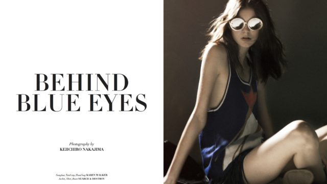 "TWEV Magazine/""Behind Blue Eyes"""